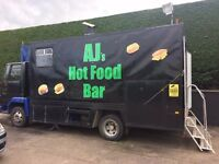 Food catering truck for sale
