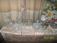 cut glass and glassware