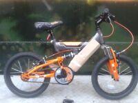 NEW Townsend Spyda 16 Inch Kids Bike Full Suspension - RRP £135