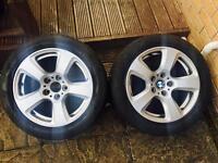 """BMW 17"""" Alloy Wheels, Alloys x2"""