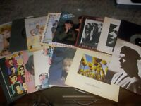 Job lot of vinyl records LP's and Singles. 48 LP's and about 40 singles all 80's classics.