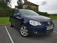 2009 vw polo 1.4 Automatic 12 month mot very low mileage