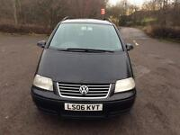 Cheap Cheap 2006 Volkswagen Sharan 1.9L Diesel Auto 7Seater Family Car LONG MOT Bargain Price £1,249