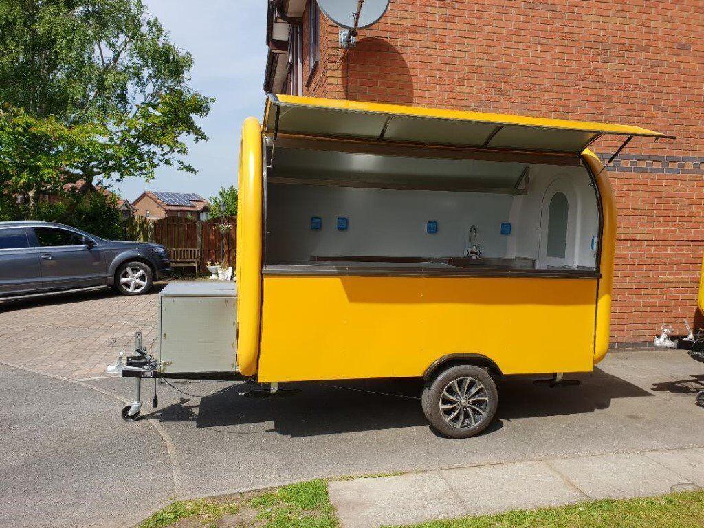 Catering Trailer Pizza Trailer Food Cart Burger Van Ice