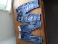 9-12 month baby jeans