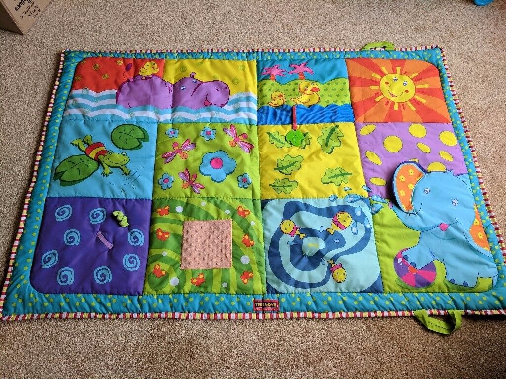 Tiny love large baby play mat