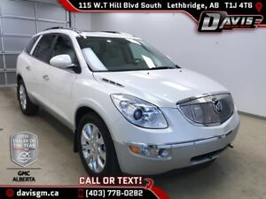 Used 2012 Buick Enclave CXL-2-AWD, 7 Passenger, Heated/Cooled Le