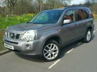 2010 NISSAN X-TRAIL TEKNA DCI 173*FSH*HEATED LEATHER*SAT NAV*REVERSE CAMERA*PAN ROOF*XENON#JEEP#CRV