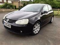 VW GOLF GT TDI,2.0TDI,6 SPEED MANUAL,NEW MOT,2 KEYS,07872346777