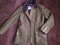 Joules tweed field coat RRP £229