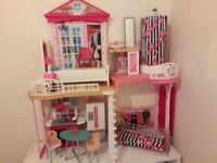 Barbie My style house with all furniture. In excellent condition. £45