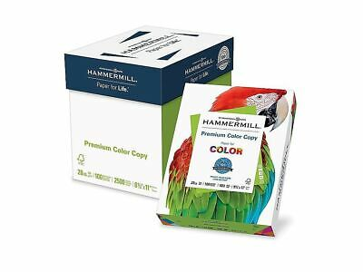 Hammermill Premium Color Copy Paper 28 Lbs. 8.5 X 11 Photo White 102450