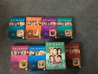 Friends series 3-10 on DVD in excellent condition