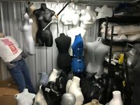 Shop mannequins/dummies