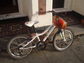 GIRLS(age 5-8)NEW MOONSTONE APOLLO BICYCLE