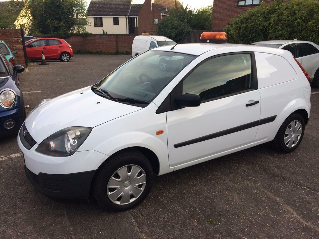 ford fiesta van 1 4 tdci 2008 model in great baddow essex gumtree. Black Bedroom Furniture Sets. Home Design Ideas