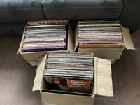Over 200 LP's various artists