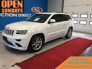 2016 Jeep Grand Cherokee SUMMIT! ONLY 6069KM fULLY LOADED!