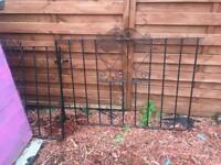 Wrought iron drive way gate