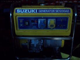 1200W SUZUKI SE 1200 AD 4 STROKE PETROL GENERATOR
