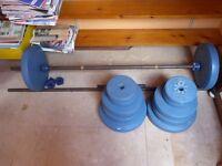 Weider weights set