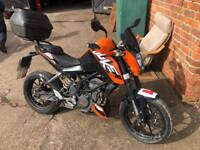 Ktm duke 125cc spares or repairs