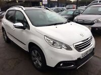 Peugeot 2008 1.6 e-HDi Allure EGC 5dr (start/stop)£9,300 p/x welcome 1 YEAR FREE WARRANTY. NEW MOT