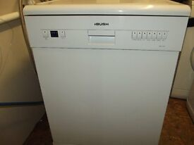 BUSH FULL SIZE DISHWASHER IN GOOD CLEAN WORKING ORDER PRICE TO CLEAR CAN COME WITH A WARRANTY