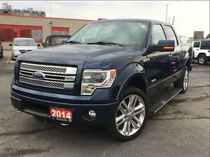 2014 Ford F-150 LIMITED**SUNROOF**LEATHER**NAVIGATION**BACK UP C