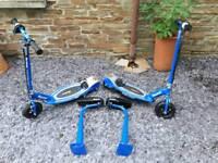 Razor E 100 electric scooters