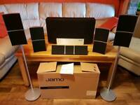 Jamo 5.1 Home cinema speakers with 180w subwoofer