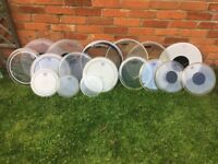 Bank Holiday - Drum Head Clear out - Loads - Remo Evans Premier - Various prices £1-£12 + Bass Heads