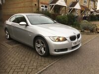 BMW 3 SERIES 325 AUTO COUPE AUTO 2007 VERY LOW MILEAGE FULL HISTORY FULL LEATHER ELECTRIC SEATS