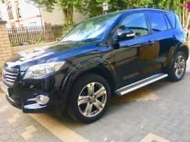 Toyota RAV 4 AUTO 2011 D4D Black with black leather Full Toyota service history 1owner