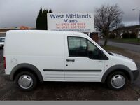 57 PLATE FORD TRANSIT CONNECT T200 L90 1.8 DIESEL SWB
