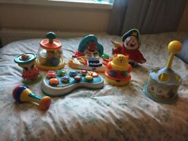 SELECTION OF BABY's TOYS