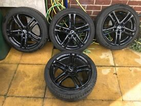 "17"" Wolfface Bavaro Wheels & Tyres - 214/45R17 92W"
