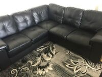 Corner L shape corner sofa with extra recliner chair