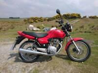 Honda CG125 Very Low Miles