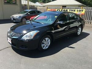 2012 NISSAN ALTIMA 2.5 S- SUNROOF, LEATHER HEATED SEATS, CRUISE,