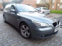 BMW 520D SE *** ESTATE *** AUTOMATIC *** FULL SERVICE HISTORY *** ONLY 3450 ***