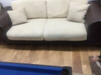 Beautiful three piece sofa set £150 excellent condition