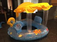 Young Kids Inflatable Pool Toys / Boat / Ride On Swimming Beach
