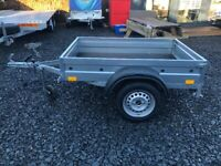 BRAND NEW MODEL 5X4 SINGLE AXLE FLAT TRAILER