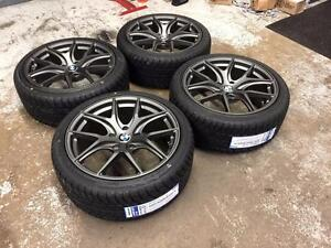 18 Avante Garde Style Wheels 5x120 and All Season Tires 225/40ZR18 (BMW) Calgary Alberta Preview