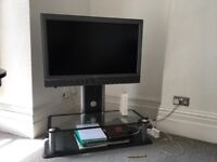 Sony Bravia television with stand