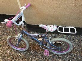 "Girls bike: 'Puppy Pedal Pets' 16"" wheel"