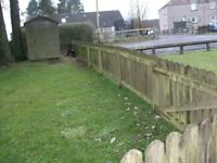 Wooden fence panels - various lengths/prices - Please read advert