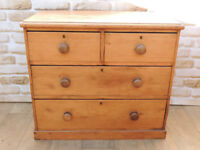 Antique Wooden chest of drawers (Delivery)