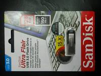 San Disk. Ultra Flair. 128 Gb